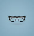 Hipster glasses vector image