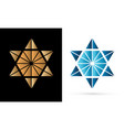 israel star modern star luxury graphic vector image vector image