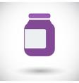 Jar icon vector image vector image