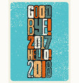 typographic vintage grunge style christmas card vector image vector image