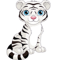 White Tiger vector image vector image