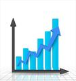 Business graph and chart vector image