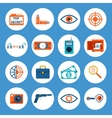 Spy Accessories and Gadget Icons vector image