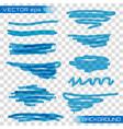 highlight marker vector image vector image