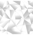 monochrome triangle pattern vector image