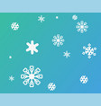 christmas pattern new vector image