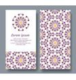 arabic card for invitation celebration vector image vector image