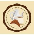 Cofee icons design vector image vector image