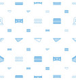 country icons pattern seamless white background vector image vector image