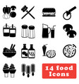 food and drink icon best for your web and mobile vector image vector image