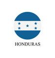 honduras flag vector image vector image