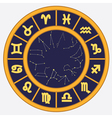 Horoscope circle vector image