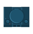 Isolated videogame console design vector image vector image