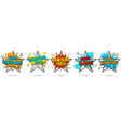 new year and merry christmas banners vector image vector image