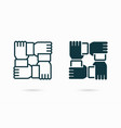partnership icon for graphic vector image