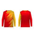 sportswear sublimation print vector image vector image