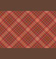 warm color diagonal check square pixel seamless vector image vector image