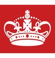 Keep calm poster similar crown imitation vector image