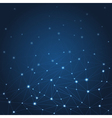abstract blue background with stars and vector image