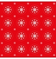 Christmas pattern with snowflakes vector image vector image