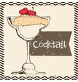 Cocktail icons design vector image vector image