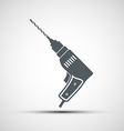 icons electric drill vector image vector image