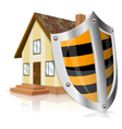 safe house concept vector image