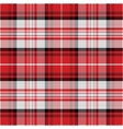 seamless red pattern Scottish tartan vector image vector image