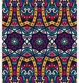 Abstract festive colorful ethnic tribal pattern vector image vector image