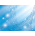 background with blue abstraction and stars vector image vector image