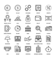 Banking and Money vector image vector image