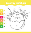 easter activity children educational game vector image vector image