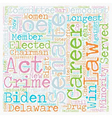 Joe Biden Democrat 1 text background wordcloud vector image vector image