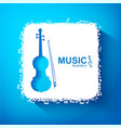 music design concept vector image vector image