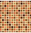 Orange shade tile mosaic background vector image vector image