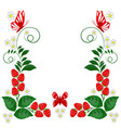 ornamental design elements - vector image vector image