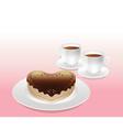 Sweet Afternoon Tea vector image vector image