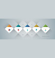 abstract geometric background 6 vector image