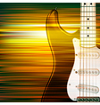 abstract green blur music background with electric vector image vector image