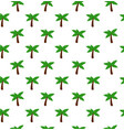 black palm seamless pattern vector image