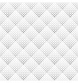 geometrical seamless monochrome square pattern vector image vector image