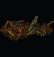 la antigua guatemala text background word cloud vector image vector image