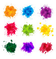 Paint splashes colored backdrop abstract splatter