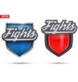 Premium symbols of Fights Tag vector image