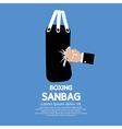 Sandbag vector image vector image