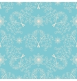 Winter Christmas seamless pattern vector image vector image