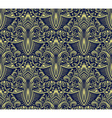 Damask seamless pattern repeating background vector image
