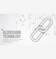 blockchain finance business concept peer vector image vector image