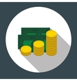 Money Flat Design Concept vector image