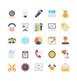 Office and Stationery Icons 3 vector image vector image